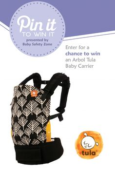 Enter to win a baby carrier from Baby Tula!