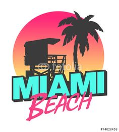 Vecteur : Miami Beach