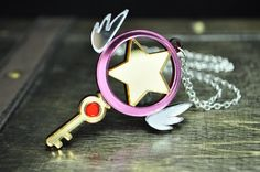 Cardcaptor Sakura étoiles baguette clés Cosplay par TrinketySlot, $25.00