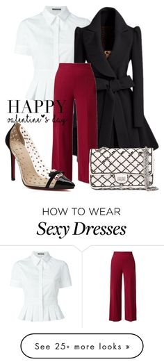 """Untitled #228"" by bellatrix87 on Polyvore featuring Alexander McQueen, The Row, Chanel, women's clothing, women, female, woman, misses, juniors and valentinesday"