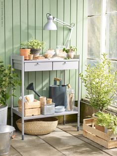 IKEA Quality furniture at affordable prices. Ikea Outdoor, Outdoor Living, Indoor Outdoor, Plein Air Ikea, Ikea Exterior, Porches, Ikea Plants, Garden Power Tools, Garden Makeover