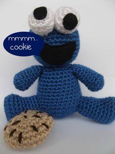Amigurumi Cookie Monster