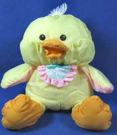 Dolls Basket And Bunny Mask Lustrous Cuddly Chick Art Dolls-ooak