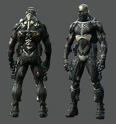 Crysis 2 редактирование костюма энергии