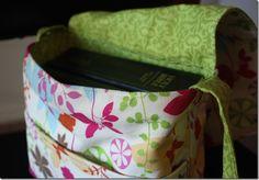 Scripture messenger bag  http://craftycupboard.net/2011/09/scripture-tote-messenger-style/ #LDS
