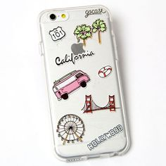 Custom Phone Case California Travel Cell Phone, Cases & Covers - amzn.to/2iezkJl Cell Phones & Accessories - Cell Phone, Cases & Covers - http://amzn.to/2jXZVL6