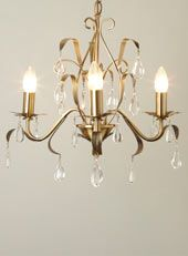 Buy Tesco Lighting Marie Therese Mink from our Chandeliers range ...