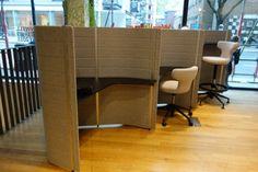 Vitra Workbays Acoustic in showroom