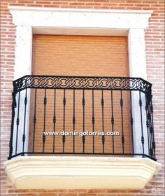 Pergola With Ceiling Fan Terrace Grill, Balcony Grill, Iron Balcony, Front Porch Railings, Iron Stair Railing, Balcony Railing Design, Window Grill Design, Iron Gate Design, Roof Design