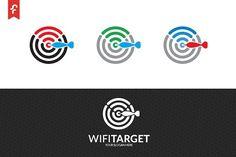 Wifi Target Logo #Target#Wifi#Templates#Logo