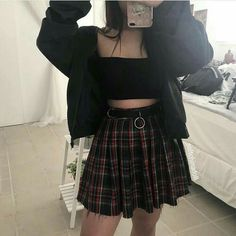 I love your outfit it's beautiful and sexy Hipster Outfits, Gothic Outfits, Edgy Outfits, Grunge Outfits, Grunge Fashion, Pretty Outfits, Girl Fashion, Cool Outfits, Fashion Outfits