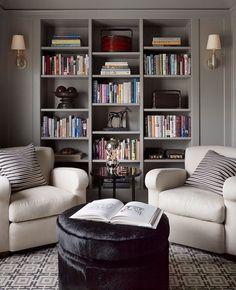 www.joliesse.ru интерьер гостиная библиотека