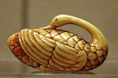 I am sooo thrilled to have come upon Netsuke! Now I know more about Japanese history and art. Fun. (AAMSF---netsuke-swan by Marshall Astor - Food Fetishist, via Flickr)