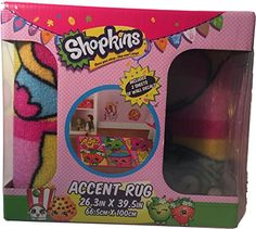 Shopkins Accent Rug Size 26 x 39 inch ** Be sure to check out this awesome product. (Note:Amazon affiliate link)