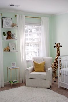 We are less than two weeks away and I am so very excited to share with all of you our Sweet Baby G's very first room, the nursery!    When ...