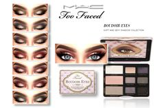 """Too Faced """"Boudoir Eyes"""" by MAC ** Each of these nine shades is smoldering when worn alone, and in combination they're downright X-rated. Boudoir Beauty features color and neutral shadows, plus five..."""