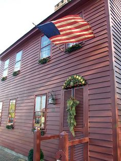 Saltbox House from Colonial Sense
