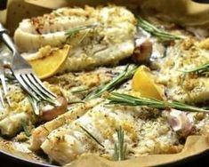 Cabillaud rôti au citron, ail et romarin : http://www.fourchette-et-bikini.fr/recettes/recettes-minceur/cabillaud-roti-au-citron-ail-et-romarin.html: