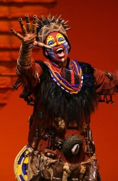 The Lion King - Musical. Rafiki