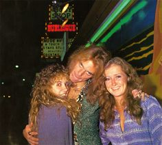 Stevie Nicks, David Lee Roth, and Bonnie Raitt at the launch party for Van Halen's first album (1978)