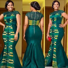 African Dressed 2019 : Lace Styles for Smart Ladies  -  DeZango  FacebookTwitterWhatsAppAddThis