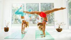 """Kino MacGregor & Kerri Verna's """"Journey to Handstand"""" Online Video Workouts on Cody"""