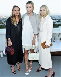 Mary-Kate and Ashley with their friend Jacey Dupriehad at InStyle's party for Elizabeth and James at the Chateau Marmont in LA, July 26 2016