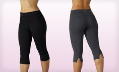 $18.99 for Marika Curve Seam Capri Leggings in Black or Carbon ($55 List Price). Free Shipping and Returns.