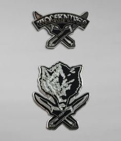 Jason Ellis Wolfknives Enamel Pin Set