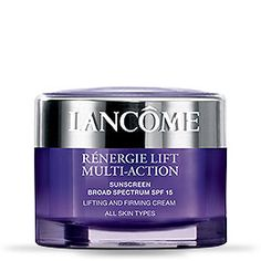 Lancome Renergie eye cream. This is the best eye cream for puffiness, lifting and wrinkles that I've ever used!  Not too shabby of a price, great results!