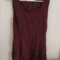 Brandy Melville Dresses & Skirts - Brandy Melville Maroon Tank Dress