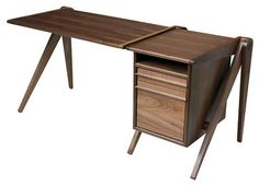 New Breed Desk with File - contemporary - desks - SmartFurniture