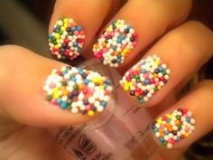 Candy Sprinkles - Pinning this because it is RIDICULOUS!!!  Maybe someday when I dress up as candy I will use it.;)