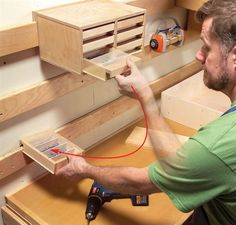AW Extra - Hyper-Organize Your Shop - The Woodworker's Shop - American Woodworker