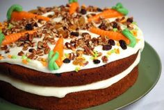Carrot Cake, my favorite other than ice cream cake.