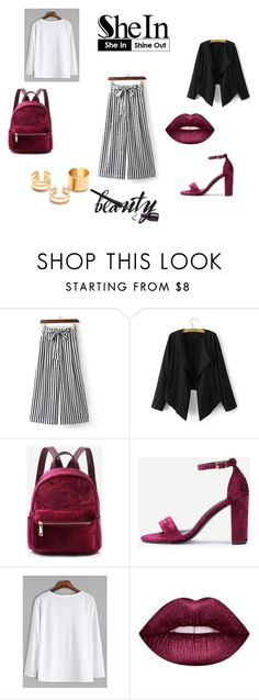 """shein 5"" by seldy-enes ❤ liked on Polyvore featuring Lime Crime"