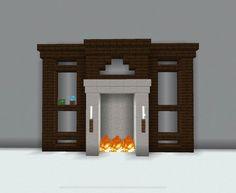 Minecraft Wall Designs, Craft Minecraft, Modern Minecraft Houses, Minecraft Mansion, Minecraft Interior Design, Minecraft Room, Minecraft Plans, Minecraft Architecture, Minecraft Blueprints