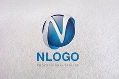 N Letter, Letter N, N logo, logo N by Design Studio Pro on @creativemarket