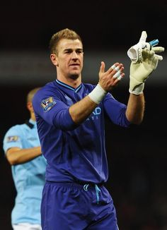 Manchester City goalkeeper Joe Hart !