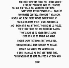 Crb Poems4thebroken On Pinterest