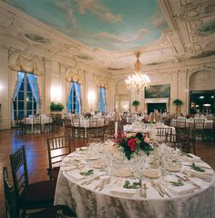 Rosecliff Mansion ballroom. Newport, RI