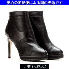 先行☆冬☆DRUCE プラットフォームアンクルブーツ☆ジミーチュウ