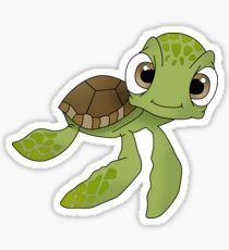 Cute Turtle Pegatina