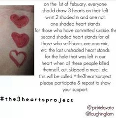 the heart project self harm - Google Search
