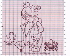 la petite fille et l'oie Cute Cross Stitch, Cross Stitch Charts, Cross Stitch Patterns, Easy Crochet Patterns, Crochet Stitches, Crochet Geek, Crochet Designs, Cross Stitch Silhouette, Fillet Crochet