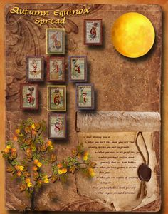 Autumn Equinox Spread (mabon) (tarot) The Missing 3: Fall foliage: What others appreciate as beautiful in you