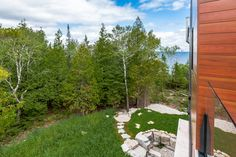 Contemporary Design in Lion's Head, ON Modular Home Builders, Custom Modular Homes, Custom Homes, Contemporary Cottage, Contemporary Design, Modern Design, Model Homes, Decks, Photo And Video
