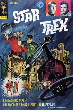 Star Trek Comic!! I'm a huge Star Trek fan. This looks awesome - Spectra