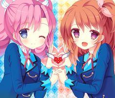 Madoka and Akari