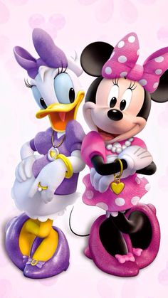 Minnie and and Daisy ♥☺